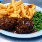 Food at the Beauchamp Arms